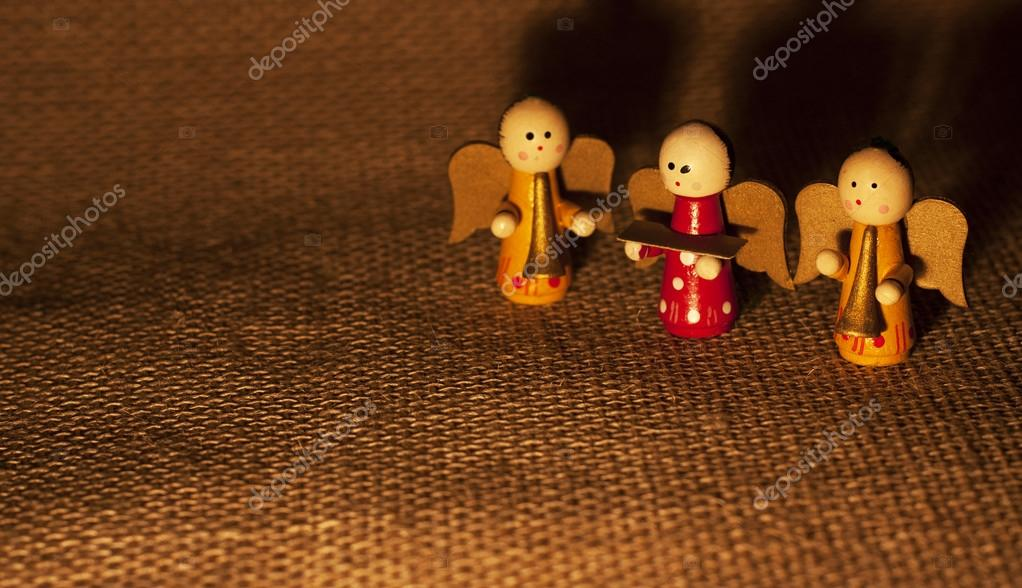 Christmas angels — Stock Photo #16837593
