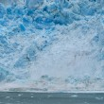 The Hubbard Glacier while melting, Alaska — Stock Photo
