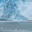 The Hubbard Glacier while melting, Alaska — Стоковая фотография