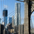 NEW YORK A view from brooklyn bridge — Stock Photo #19009089