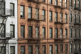 New york manhattan buildings — Stock Photo