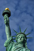 New York Statue of Liberty Head and torch — Stock Photo