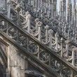Stock Photo: Milan Dome Cathedral view