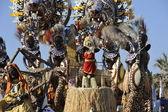 Viareggio Italy Carnival Show Band Wagon — Stock Photo