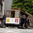 San Francisco cable car — Stock Photo