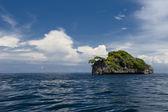 Tropisches paradies strand meer ozean kristallwasser klar sand blau — Stockfoto