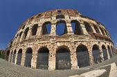 View on Coliseum colosseum in Rome, Italy — Stock Photo