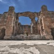 Villa adriana ancient roman ruins of emperor palace — Stock Photo