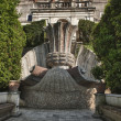 Ville d'este rome fountain games - Stock Photo