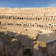 Huge interior View on Coliseum colosseum in Rome, Italy — Foto Stock #21230127