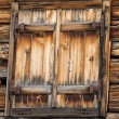 Old wood cabin house window — Stock Photo #21818601