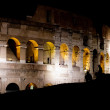 Rome Colosseum night view - Stock Photo