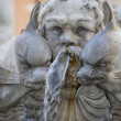 Rome, détail de fountain plaza navona — Photo #23738269