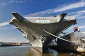 Intrepid II world war carrier in New York — Zdjęcie stockowe
