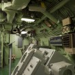 Submarine USS Growler SSG-577 interior view - Stock Photo