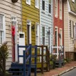Stock Photo: Annapolis Maryland old houses