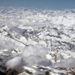 Alps Aerial View — Stockfoto