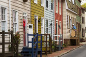 Annapolis Maryland old houses — Stock Photo