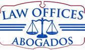 Sinal de abogados de escritórios de direito — Foto Stock