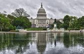 华盛顿 dc 资本下大雨天气 — 图库照片