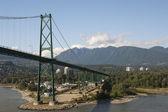 Most vancouver — Zdjęcie stockowe