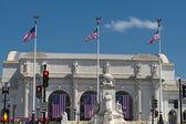 Washington union station view — Stock Photo