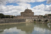Castel sant'angelo summer home of pope Francis — Stock Photo