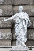 Marble roman statue: Cicerone — Stock Photo