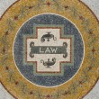 Stock Photo: Law Mosaic