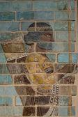 Antiga babilônia e assíria escultura pintura da mesopotâmia — Foto Stock