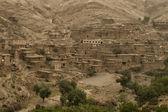 Moroccan Village in the desert — Stock Photo