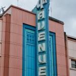 sinal de Avenida 5º Anchorage — Foto Stock