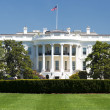 Stock Photo: Washington White House on sunny day