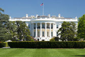 Washington White House on sunny day — Stock Photo