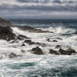 Sea in tempest in Far Oer Island — Stock Photo