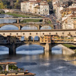 Stock Photo: Florence view panorama