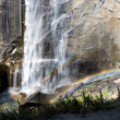 Yosemite Park falls view — Stock Photo