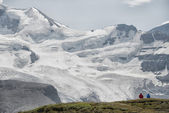 Icefield Park glacier view — Stock Photo