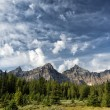 Stock Photo: Canada Rocky Mountains Panorama