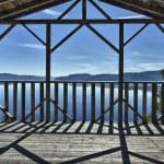 Saguenay fjord view — Stock Photo