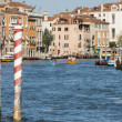 Venice view of canal grande — Stock Photo