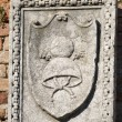Stock Photo: Medieveal bas relief Burano Venice