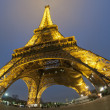 Stock Photo: Tour Eiffel at night
