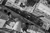 Canadian Street from Calgary Tower — Stock Photo
