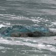 The Hubbard Glacier while melting — Foto Stock