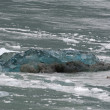The Hubbard Glacier while melting — Stock Photo