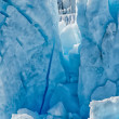 Stock Photo: Glacier view