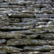 Stone roof detail — Stock Photo