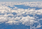 Alps Aerial view — Stockfoto