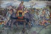 Campidoglio museum hannibal painting — Stock Photo